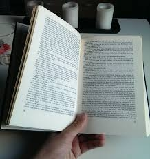 picture of marking the pages