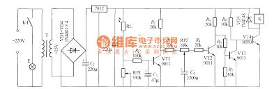 Simple Light Operated Street Lamp Circuit Diagram6
