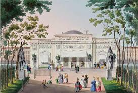 pavilion in the summer garden tumling 1830 40s courtesy state