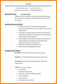 Accounts Resume Format Mesmerizing 44 Account Resume Format World Wide Herald