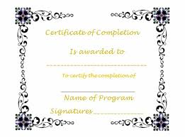 Printable Achievement Certificates 40 Fantastic Certificate Of Completion Templates Word Powerpoint