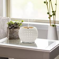 ellia gather ultrasonic essential oil diffuser in bathroom