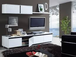 Living Room Tv Set Home Est Lena White Gloss Living Room Tv Stand Wall Cabinet Set