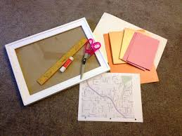 paper anniversary gift ideas map heart display tutorial