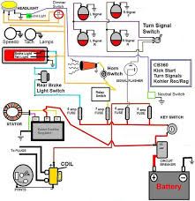 cb450 wiring diagram wiring diagram schematics baudetails info cafe racer wiring turn signals cb750 research