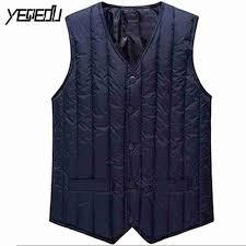 #3606 2018 Winter <b>Down Vest Men</b> Fashion V neck Bodywarmer ...