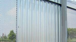 corrugated metal fence cost palm springs style popular designs to build