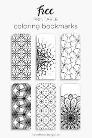 Small Picture Color Your Own Bookmarks Throughout Bookmark Coloring Pages itgodme