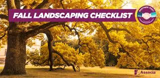 Fall Landscaping Partner Post Fall Landscaping Checklist