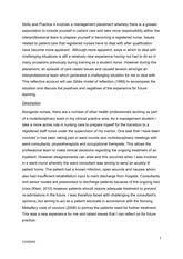 Patient safety essay