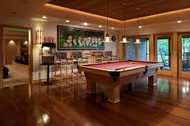 game room lighting. Baroque Bistro Tables Vogue Other Metro Eclectic Family Room Decorating Ideas With Barstools Ceiling Lighting Treatment Game