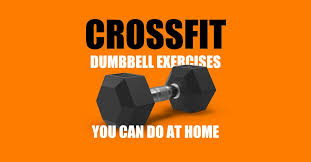 crossfit dumbbell workouts at home