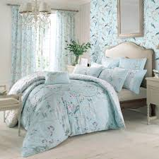 bedding duck egg blue fl piped embroidered king size duvet cover bedding sets duvet covers