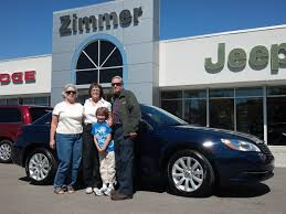 Here is sales consultant Diane Shelters with Rodger and Carolanne ...