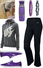 nike outfits for girls. cute lazy outfit, or athletic outfit. #teen #fashion #nike nike outfits for girls