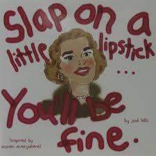 slap on a little lipstick beyond the vine