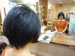 剛毛硬く多い髪でも大変身可愛く決まる大人女子ショートボブ