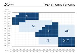 Cwx Stabilyx Tights Size Chart Cw X Sizing Guide Determine The Best Fit For High