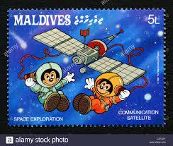 Maldives Timbres Poste De Personnages De Dessins Anim S Disney L
