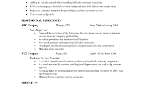 Resume Resume Samples Customer Service For A Resume Sample Of