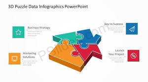 Infographics For Powerpoint 3d Puzzle Data Infographics Powerpoint Pslides