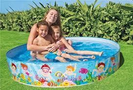 swimming pool for kids. Modren For Mini Plastic Swimming Pool For KidsFamily 4x105x106x158x15 U2039 U203a Inside Kids R