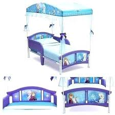 Toddler Bed With Canopy Frozen Toddler Bed With Canopy Girls Toddler ...