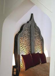 amazing moroccan headboard amusing com pattern decal geometric vinyl wall sticker removable bedroom decor inspired carved wood stylish idea best bed