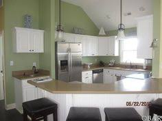 kitchens with white cabinets and green walls.  Cabinets Kitchen White Cabinets Green Walls  Beach House Pinterest Throughout Kitchens With White Cabinets And Green Walls D