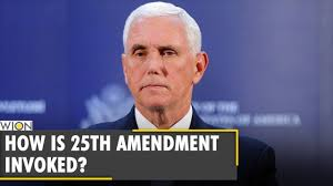 Is 25th Amendment the quickest way to remove Donald Trump from office?  POTUS | Mike Pence