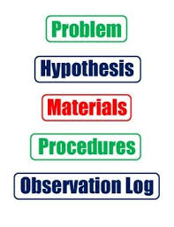 Science Project Labels Printable Free Science Fair Poster Instruction Sheet Great For Havin
