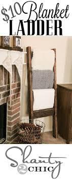 Best 25+ Blanket holder ideas on Pinterest | DIY quilting rack ... & DIY Blanket Ladder - Just $12 For This Super Easy Wooden Ladder. Blanket  HolderBlanket RackBlanket StorageStorage For BlanketsQuilt ... Adamdwight.com