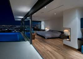 modern mansion master bedroom. Modern Master Bedroom Design Ideas At Hopen Place House In The Hollywood Hills By Whipple Russell Architects, Photo Mansion