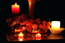 Candles And Roses Flowers Roses Candles Chocolate Flowers Light Photography  Colors Home Improvement Romantic Candles And