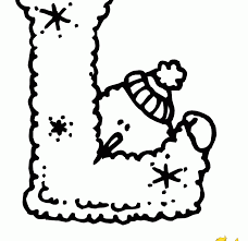 Letter L Coloring Pages Art For Adults Learning Page Kids Print