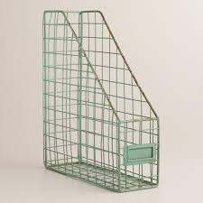 Wire Magazine Holders Blue Wire Jamison Magazine Holder World Market Apartment 2