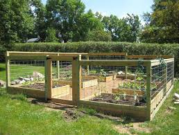 Small Picture Fenced In Raised Garden Beds Gardening Ideas