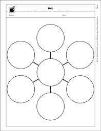 Web Graphic Organizer Printable Graphic Organizers