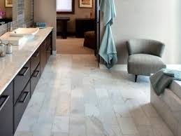 ceramic tiles install on bathroom floor
