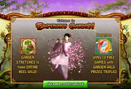 play emperor s garden no deposit slots