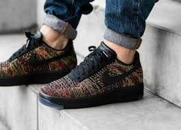 nike air force 1 basse. Nike Air Force 1 Flyknit Low Post Image Basse