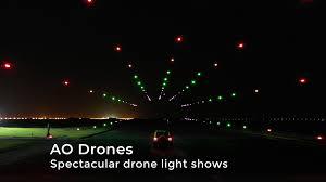 Arts Outdoor Lighting Technology Ao Lighting Technology Light Multi Media Drone Shows