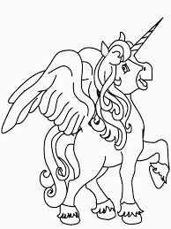 Free Printable Unicorn Coloring Pages For Kids Coloring Home