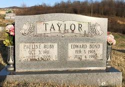 Pauline Ruby Rhodes Taylor (1911-2003) - Find A Grave Memorial