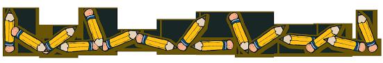 Pencil Clip Art Borders School (Page 1) - Line.17QQ.com