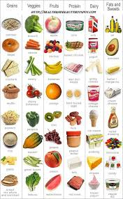 Perfect Health Diet Food Chart Food Groups Chart In Picture Format For Easy Understanding