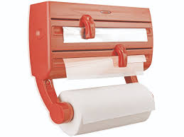 kitchen towel holder wall mounted. Wall-mounted Roll Holder Parat F2 Red Kitchen Towel Wall Mounted