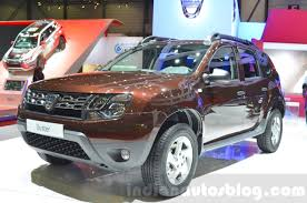 2018 renault duster. beautiful 2018 dacia duster essential front three quarters left at the 2016 geneva motor  show intended 2018 renault duster