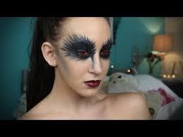 black swan inspired makeup tutorial series
