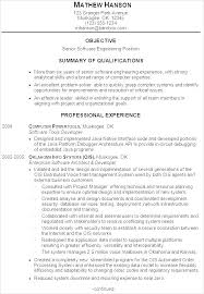 Software Developer Resume Example Experienced Resume Samples For Unique Software Developer Resume Format